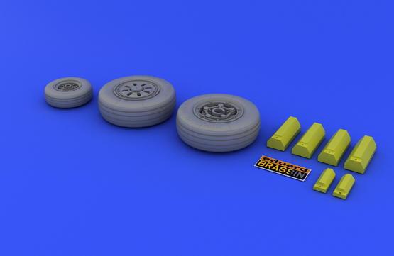 F-22A wheels 1/48  - 3