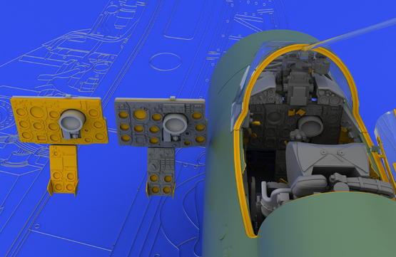 MiG-21MF interior late 1/48  - 3