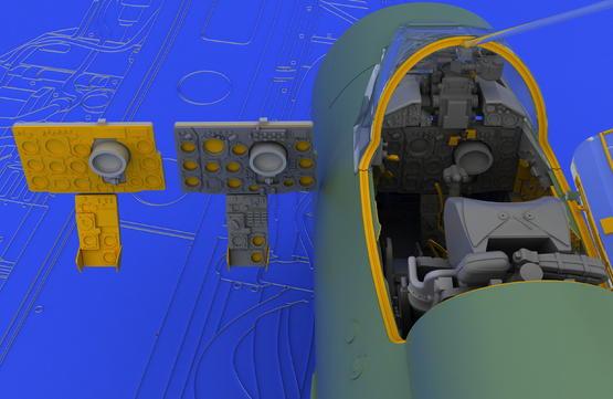 MiG-21SMT interior 1/48  - 3