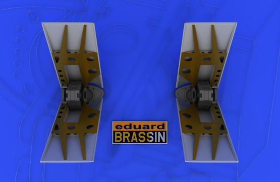 F-16 air brakes 1/48  - 3