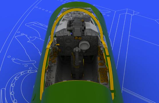 MiG-21BIS 内装 1/48  - 3