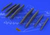 Su-25K wing pylons 1/48 - 3/6