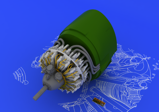 R-2800-10 engine 1/48  - 3