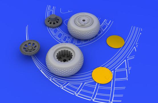 PV-1 wheels 1/48  - 3