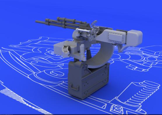 Il-2 UBT gun 1/48  - 3