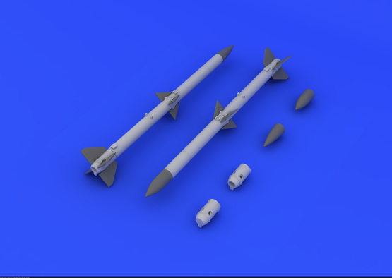 AIM-120A/B AMRAAM (2pcs) 1/48  - 3