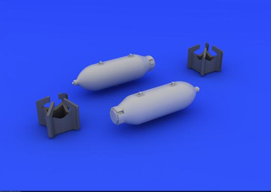 US 250lb bombs (2 pcs) 1/48  - 3