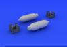 US 250lb bombs (2 pcs) 1/48 - 3/3