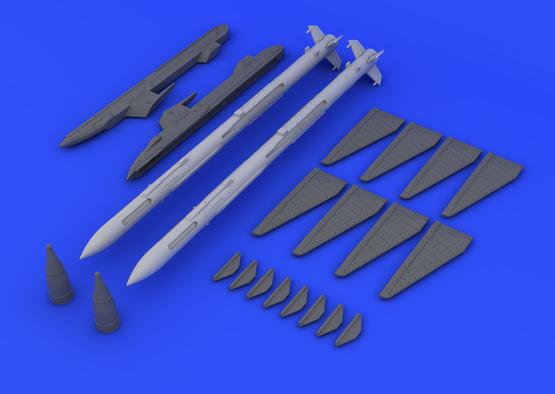 R-23R / AA-7 Apex (2pcs) 1/48  - 3