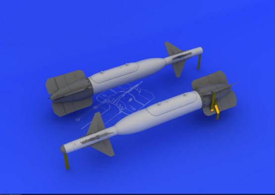 GBU-24 bomb 1/48  - 3