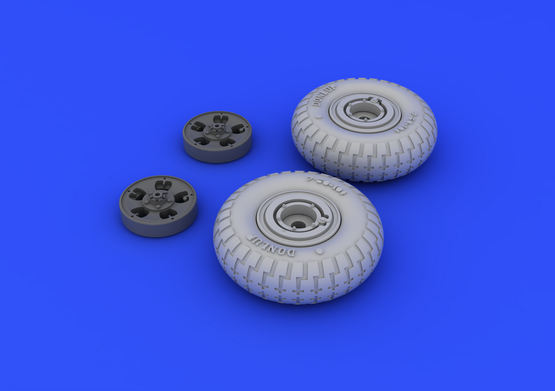 Spitfire wheels - 5 spoke 1/48  - 3