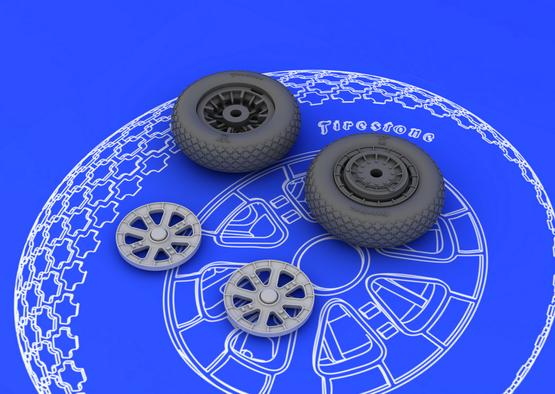 F6F wheels 1/48  - 3