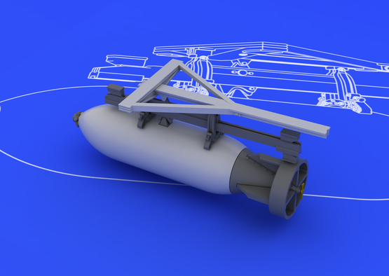 Spitfire 500lb bomb set 1/48  - 3