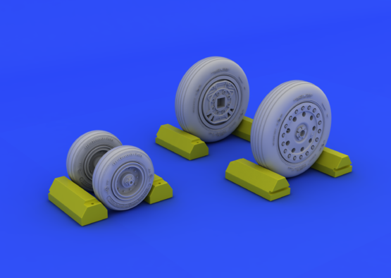 F-4B/N wheels 1/48  - 3