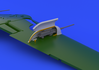 Bf 109G cannon pods  1/48 1/48 - 3/7