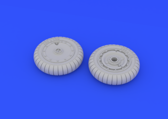 Fw 190 wheels late 1/48  - 3
