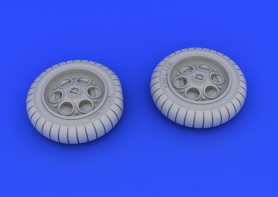 Fw 190 wheels early 1/48  - 3