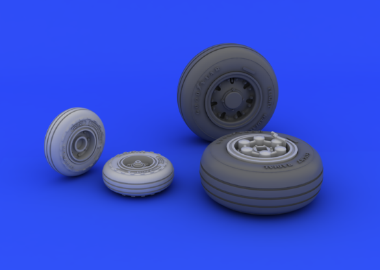 Tornado IDS wheels 1/48  - 3