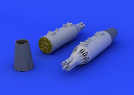 UB-16 rocket launcher  (2 pcs) 1/48  - 3