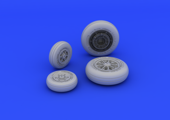 F-104 undercarriage wheels late 1/48  - 3