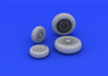 F-104 undercarriage wheels late 1/48 - 3/4