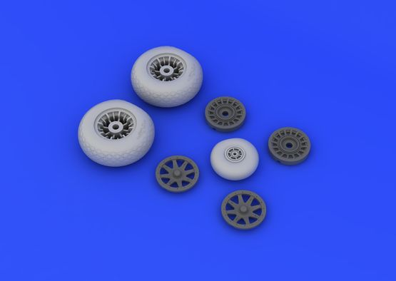 PBY-5A wheels 1/48  - 3