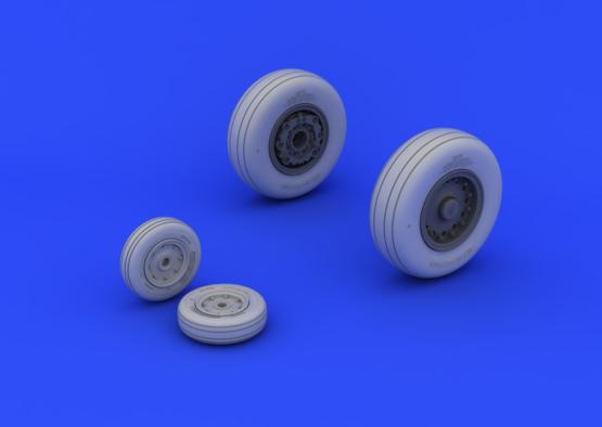 A-6 wheels 1/48  - 3