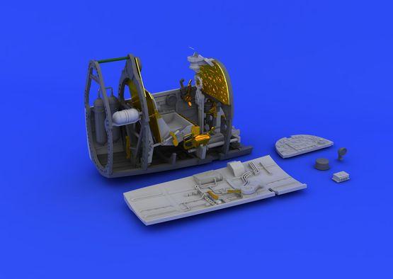 スピットファイア Mk.VIII コクピット 1/48  - 3