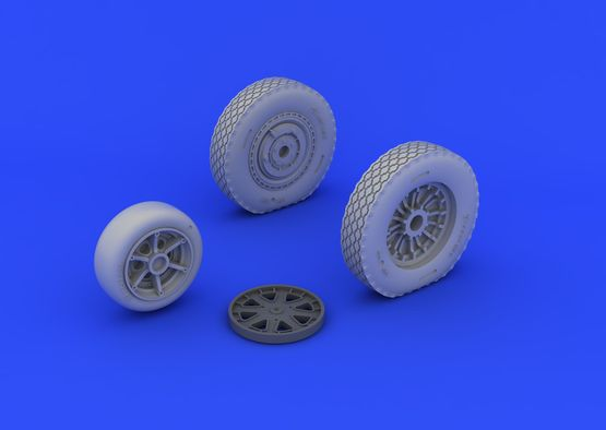 P-39 wheels late 1/48  - 3