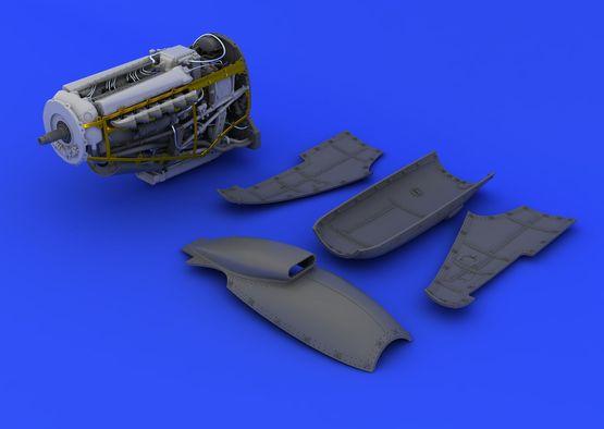 Spitfire Mk.XVI engine 1/48  - 3