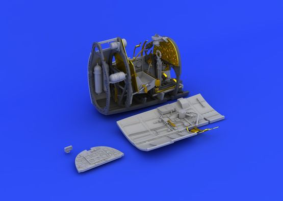 Spitfire Mk.I cockpit 1/48  - 3