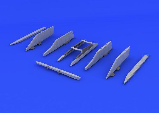 F-104 pylons 1/48  - 3
