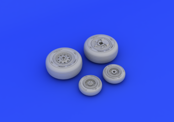 F-4J wheels 1/48  - 3