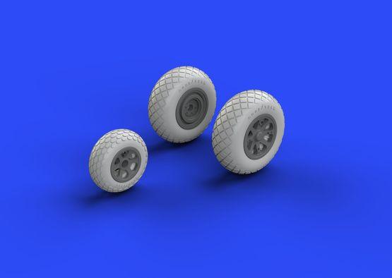 P-38 wheels  1/48 1/48  - 3