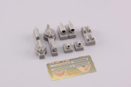 P-38F turbochargers & air intakes  1/48 1/48  - 3