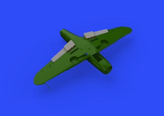 Bf 109F landing flaps 1/48  - 3