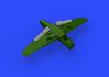 Bf 109F landing flaps 1/48 - 3/7