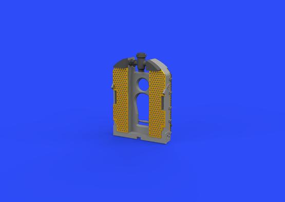 SE.5a radiator - Wolseley Viper 1/48  - 3