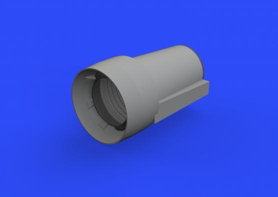 Crusader exhaust nozzle 1/48  - 3