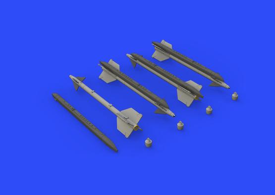 AIM-9G/H Sidewinder 1/48  - 3