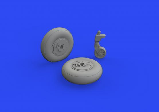 Ki-61-Id wheels 1/48  - 3