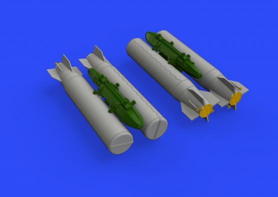 M36 kazetové bomby 1/48  - 3