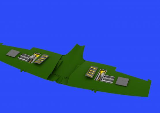 Spitfire Mk.IXe gun bays 1/48  - 3