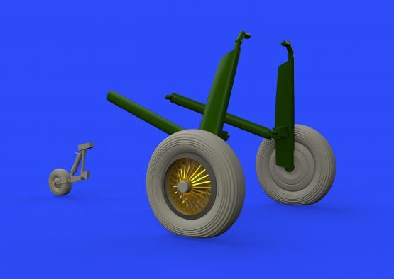 Walrus Mk.I wheels 1/48  - 3
