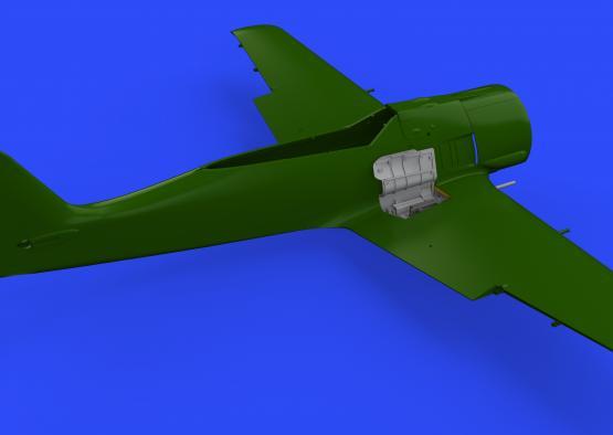 Fw 190A wingroot gun bays 1/48  - 3