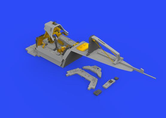 Fw 190A-3 кабина 1/48  - 3