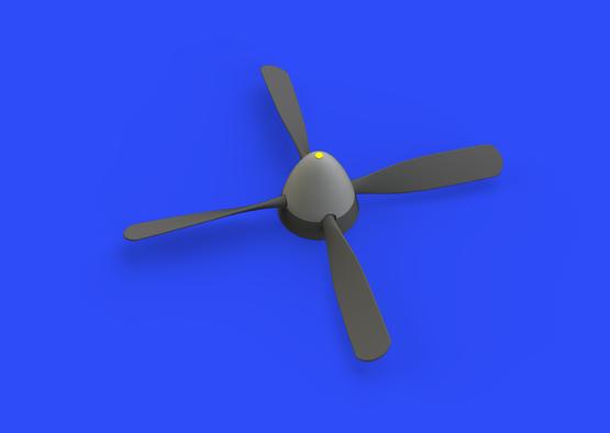 P-51D Hamilton Standard uncuffed propeller 1/48  - 3