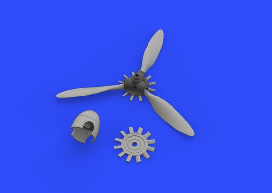 Fw 190A propeller 1/48  - 3