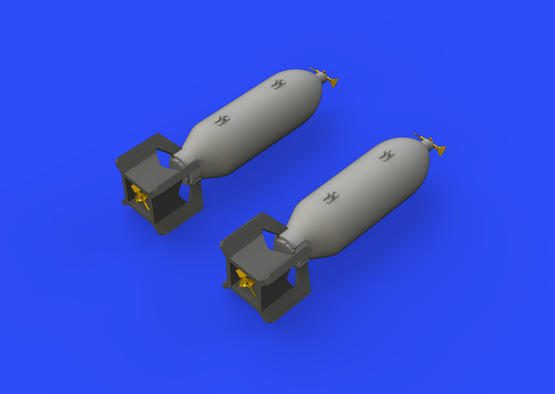 P-51D 250lb bombs 1/48  - 3
