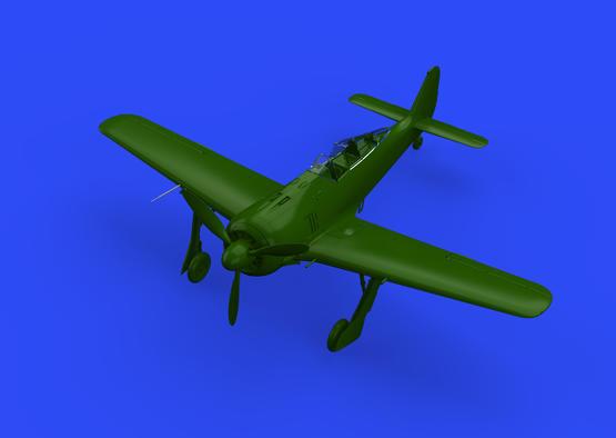 Fw 190A трубки ПВД, ранний тип 1/48  - 3